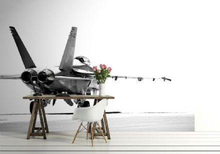 Wallpaper mural F18 Aircraft Fighter
